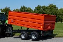 MI Tip Hobby Farmer 10 tons tipvogn med overbygning