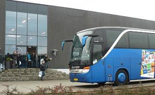 Bus foran MI