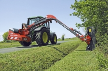 KUHN Multi Longer hegns- og rabatklipper