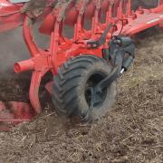 760 x 370 mm hydraulisk landhjul